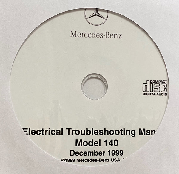 1992-1999 Mercedes-Benz S Class Model 140 Electrical Troubleshooting Manual