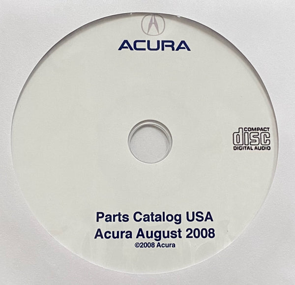 1986-2008 Acura All Models Parts Catalog