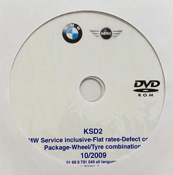 BMW/Mini Flat Rates, Defect Codes and Wheel/Tire Combinations up to 10/2009