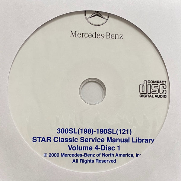 1955-1971 Mercedes-Benz SL Class and 600 (W100) Workshop Manual