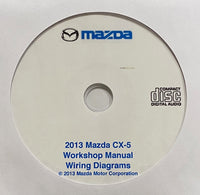 2013 Mazda CX-5 Workshop Manual and Wiring Diagrams
