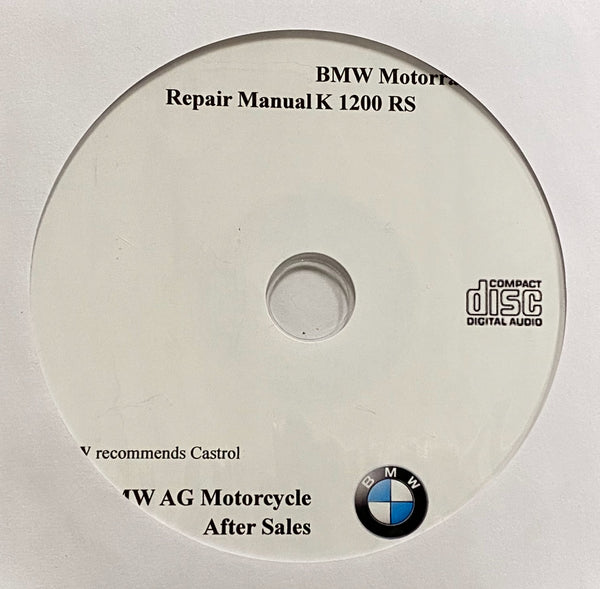 1996-2004 BMW Motorcycle K1200RS Workshop Manual