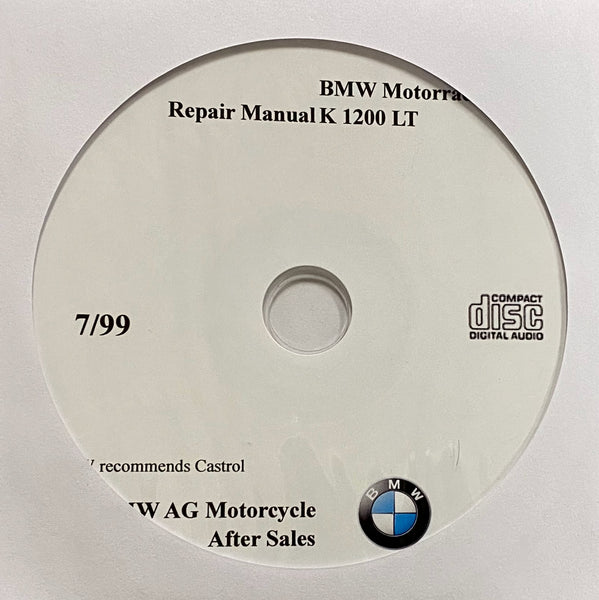 1999-2007 BMW Motorcycle K1200LT Workshop Manual