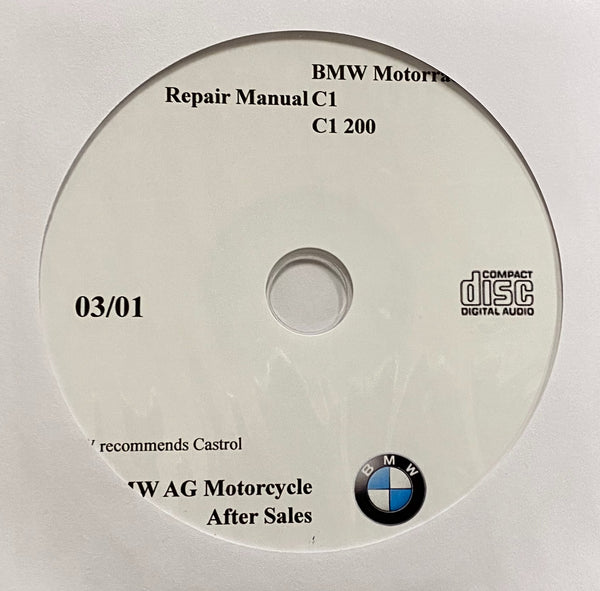 2000-2002 BMW Motorcycle C1-C1 200 Workshop Manual