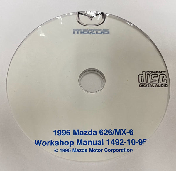 1996 Mazda 626/MX-6 US Workshop Manual
