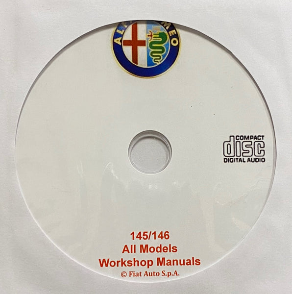 1994-2000 Alfa Romeo 145 and 146 Workshop Manual