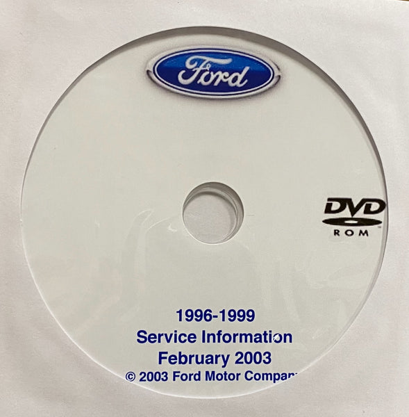 1996-1999 Ford Cars and Trucks USA and Canada Workshop Manual