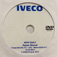 2014 Iveco New Daily Workshop Manual