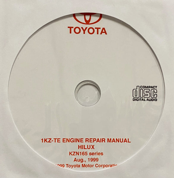 1999 Toyota 1KZ-TE Engine Workshop Manual