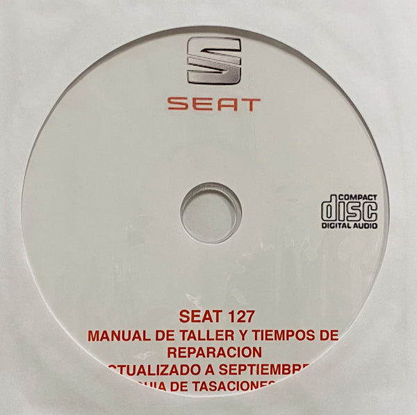 1972-1982 Seat 127 Workshop Manual in Spanish