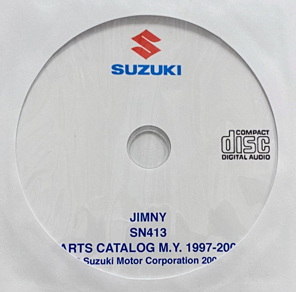 1997-2004 Suzuki Jimny SN413 Parts Catalog