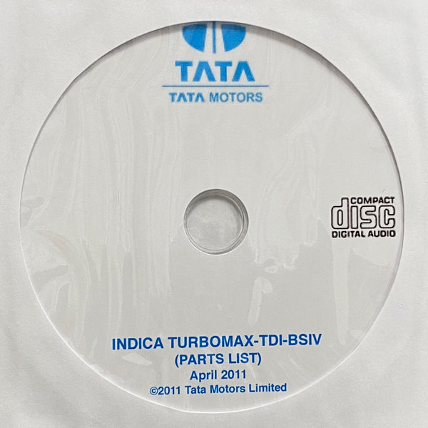 2011-2018 Tata Indica Turbomax-TDI-BSIV Parts Catalog