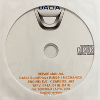 2000-2003 Dacia Supernova Workshop Manual