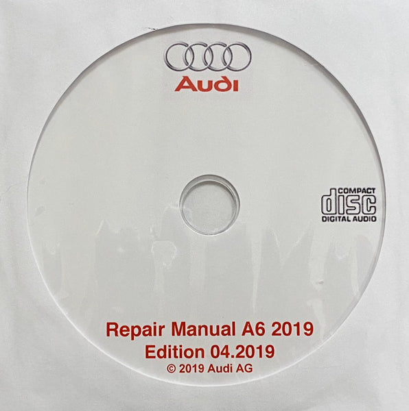 2019 Audi A6 Workshop Manual