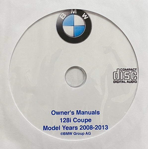 2008-2013 BMW 128i Coupe Owner's Manuals