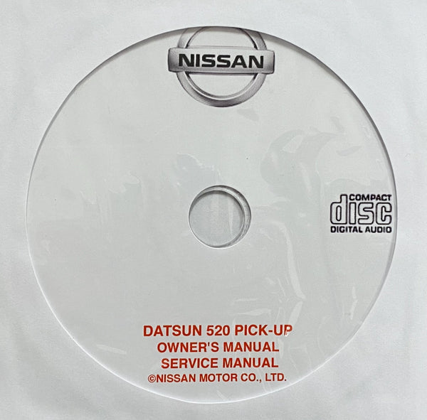 1965-1968 Datsun 520 Pick-Up Owner's Manual and Workshop Manual