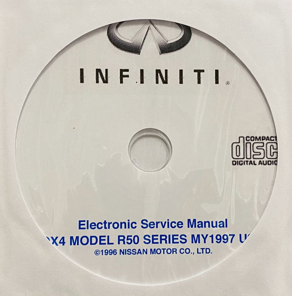 1997 Infiniti QX4 Model R50 Series Workshop Manual