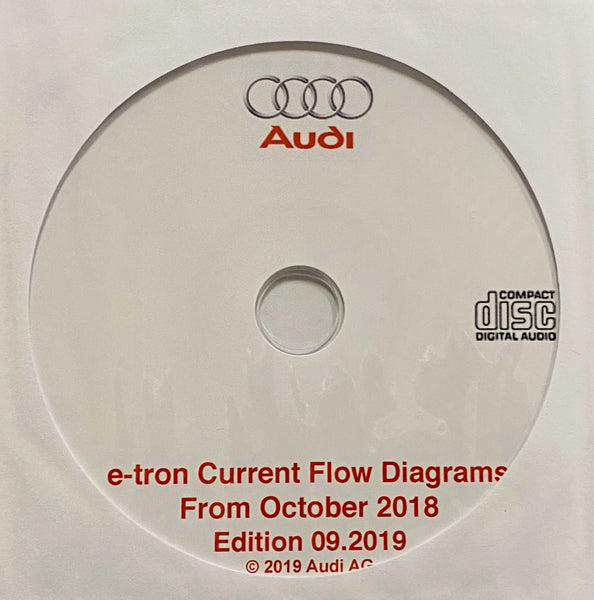 2019 onwards Audi e-tron Electrical Wiring Diagrams