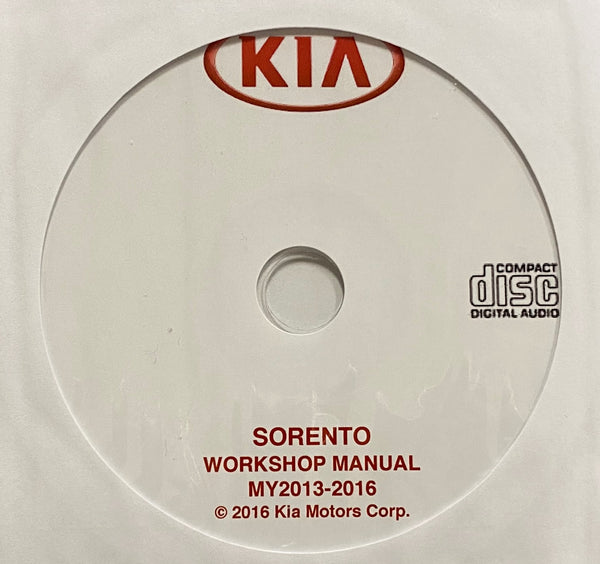 2013-2016 Kia Sorento Workshop Manual