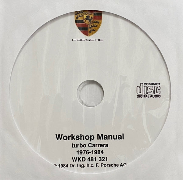 1976-1984 Porsche turbo Carrera-930 turbo-911 turbo Workshop Manual