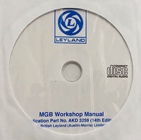1962-1974 MG MGB Workshop Manual