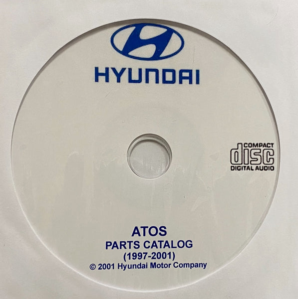 1997-2001 Hyundai Atos Parts Catalog