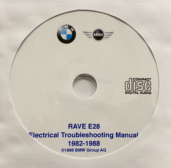 1982-1988 BMW 5-Series E28 USA Electrical Troubleshooting Manual