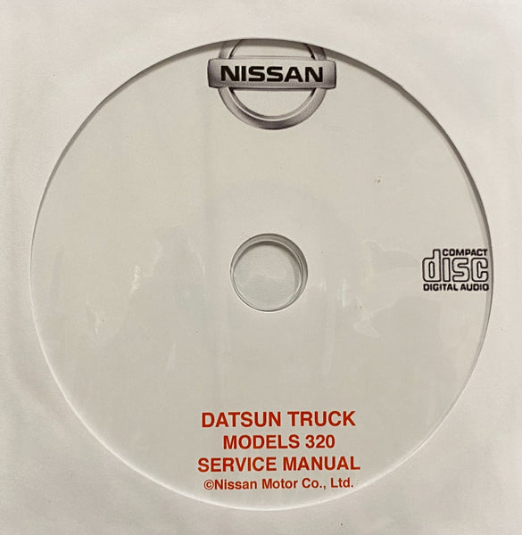 1961-1965 Datsun Truck Model 320 Workshop Manual