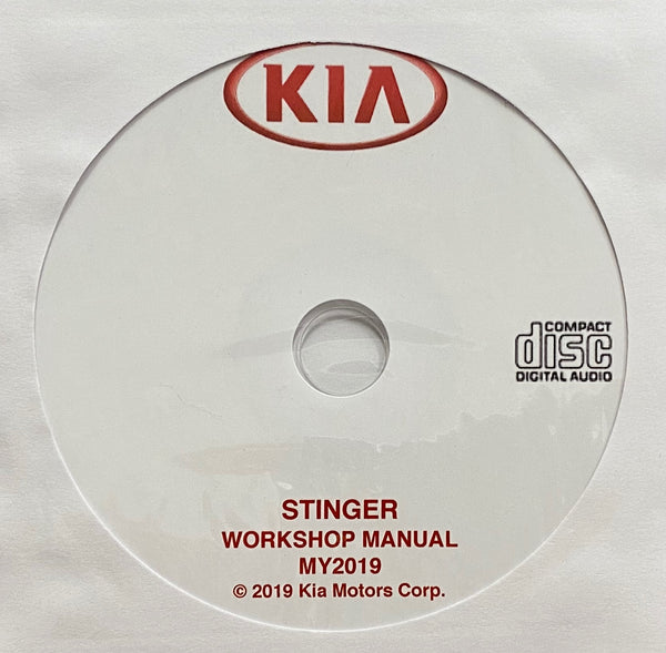 2019 Kia Stinger Workshop Manual