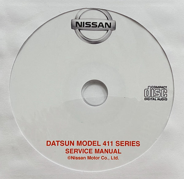 1965-1967 Datsun Model 411 Series Workshop Manual