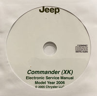 2006 Jeep Commander (XK) Workshop Manual