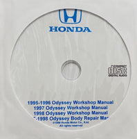 1995-1998 Honda Odyssey USA/Canada Workshop Manual