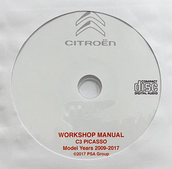 2009-2017 Citroen Picasso Workshop Manual