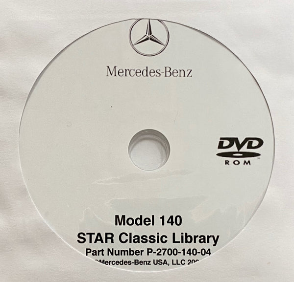 1992-1999 Mercedes-Benz S-Class Model 140 USA/Canada Workshop Manual