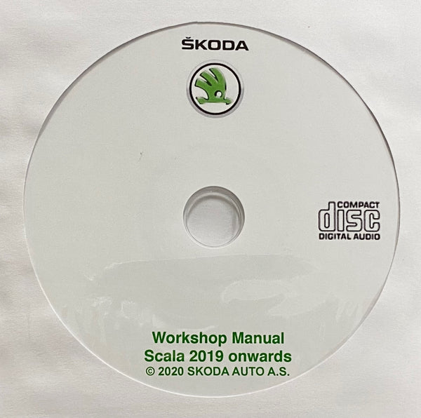 2019 onwards Skoda Scala Workshop Manual
