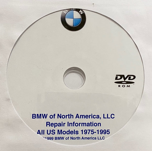 1975-1995 BMW USA All Models Workshop Manual