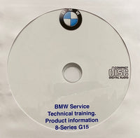2018 BMW 8-Series G15 Technical Training Manual
