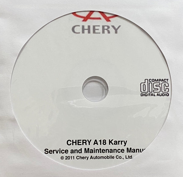 2007-2011 Chery A18 Karry Workshop Manual