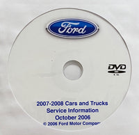 2007-2008 Ford All Cars and Trucks USA/Canada Workshop Manual