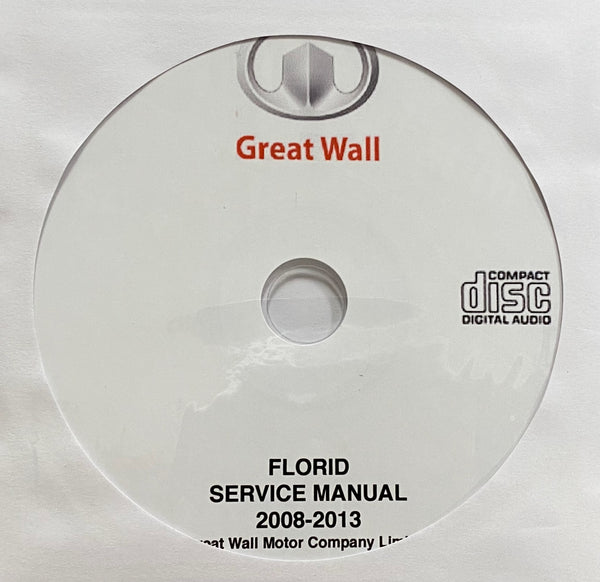 2008-2013 Great Wall Florid Workshop Manual
