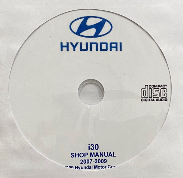 2007-2009 Hyundai i30 Workshop Manual