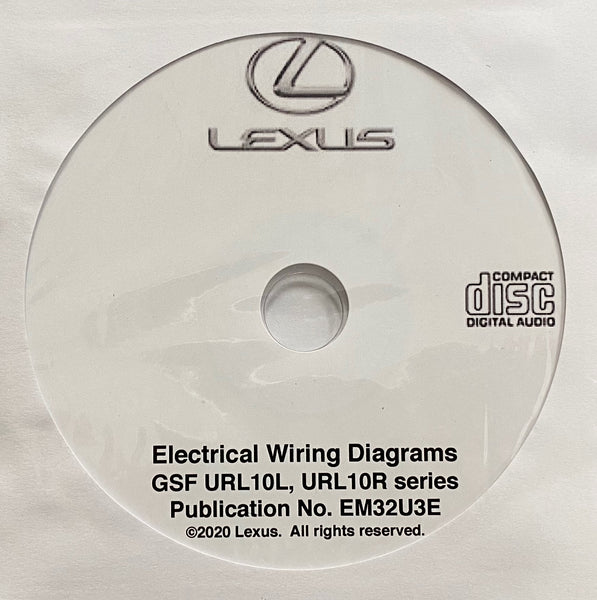 Lexus GSF Electrical Wiring Diagrams