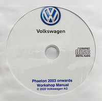 2003 onwards VW Phaeton Workshop Manual