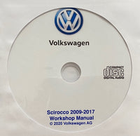 2009-2017 VW Scirocco Workshop Manual