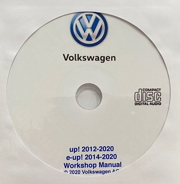 2012-2020 VW up!/2014-2020 VW e-up! Workshop Manual