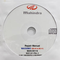 2011 onwards Mahindra MAXXIMO (BS-III & BS-IV) Workshop Manual