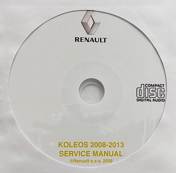 2008-2013 Renault Koleos Workshop Manual