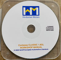 1988-2002 Hindustan Contessa Classic 1.8GL Workshop Manual