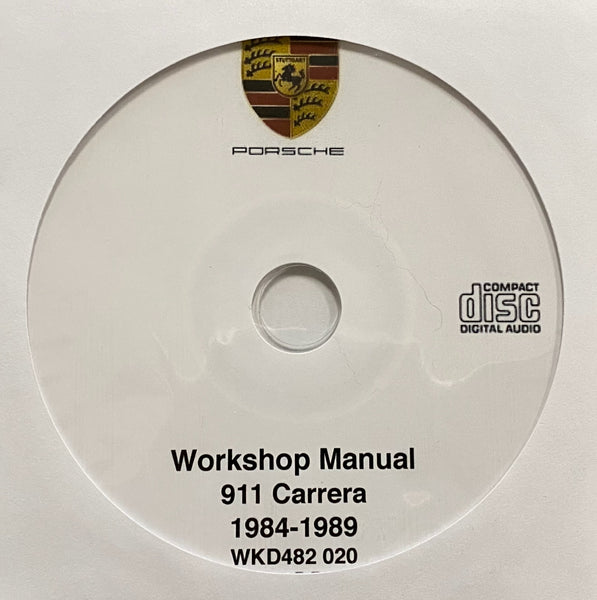 1984-1989 Porsche 911 Carrera Workshop Manual