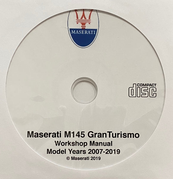 2007-2019 Maserati M145 GranTurismo Workshop Manual